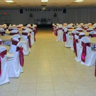 Burgundy & White Event